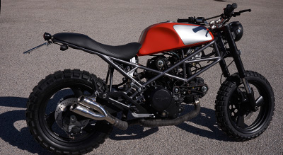 special ducati monster graffio
