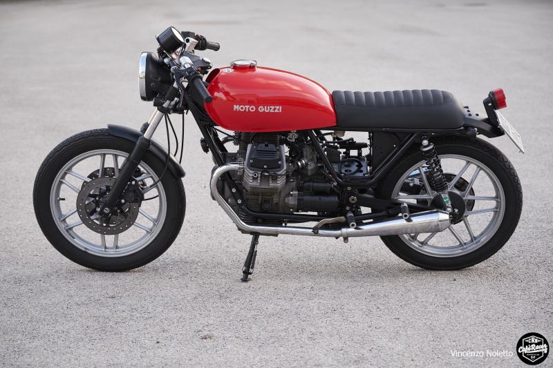 Moto Guzzi Special Rosso
