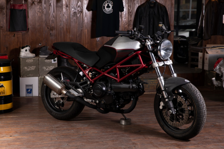 ducati monster cafe racer napoli crn